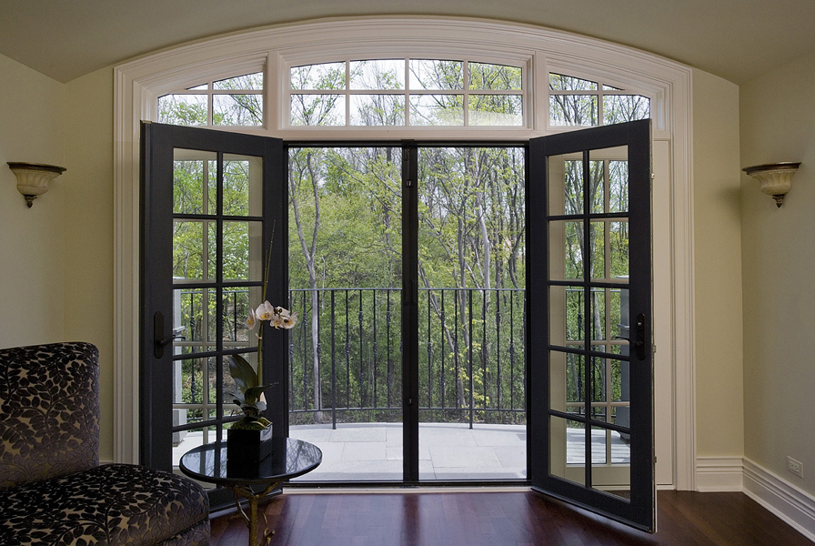 Retractable screens patio screens screen doors for Retractable screen door for double french doors