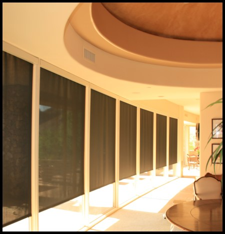 Motorized Exterior Roller Shades Motorized Wiring